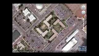 Coronado, USA. Edificio della marina militare a forma di svastica nazista - Scandaloso!