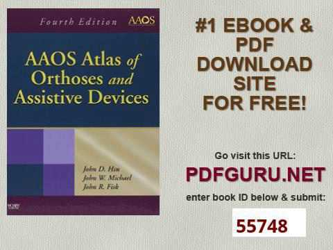 AAOS Atlas Of Orthoses And Assistive Devices, 4e