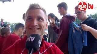 FCK-Trainingslager: Tag 7 - Interview mit Kacper Przybylko
