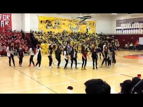West Campus High School Freestyle | Hoopcoming Rally 2016