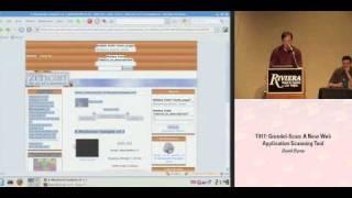 DEFCON 16: Grendel-Scan: A new web application scanning tool