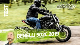 BENELLI 502C : le Power Cruiser des A2 ! | TEST MOTORLIVE