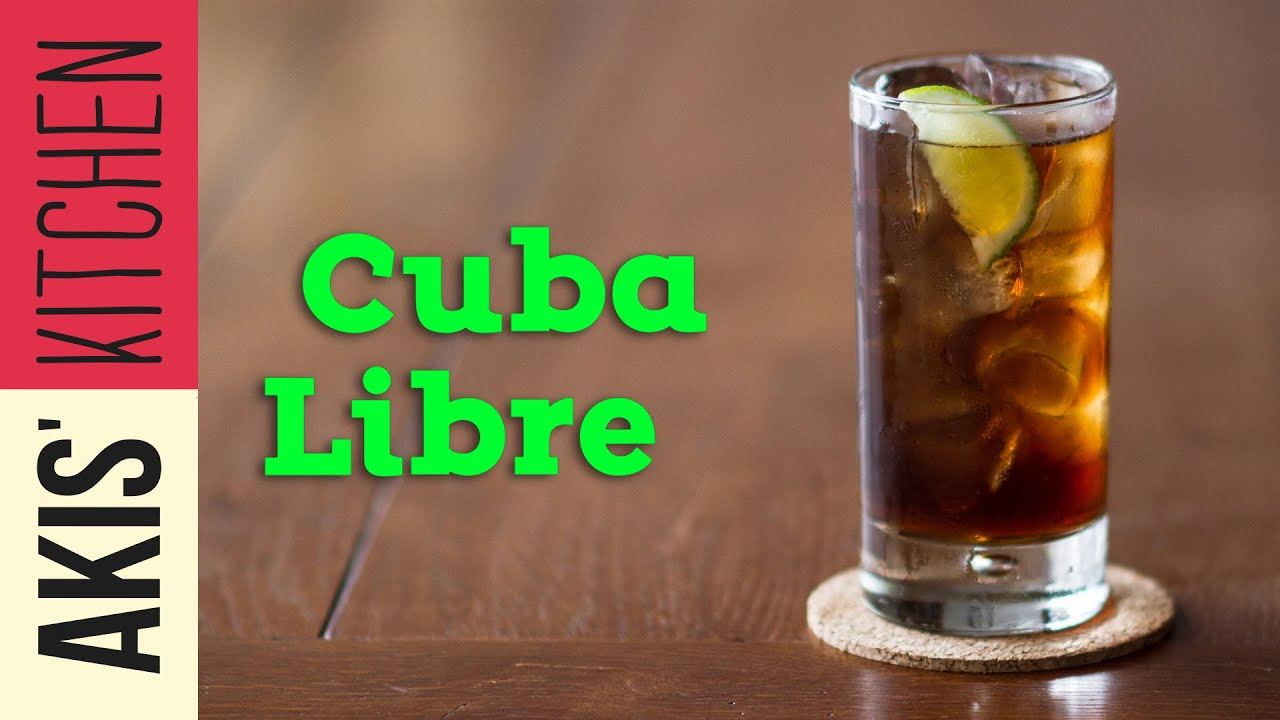 Cuba Libre Drink Cuba Libre Drinks Lab Akis Kitchen Youtube