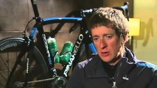 "Bradley Wiggins Interview 2 - ""I was a fan of Lance"" Armstrong"