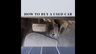 5 Tips you need to know before buying a used car that can save you thousands!