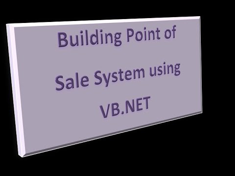 Developing a Point of Sale System using VB.NET - Selecting Items Using Images