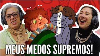 IDOSOS REAGEM A DRAWN MASK - MEUS MEDOS SUPREMOS!!!