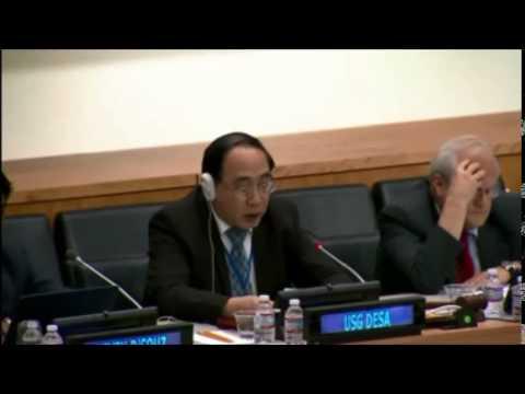 Wu Hongbo, USG Economic and Social Affairs, UN - Closing of the 2014 DCF