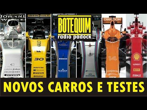 Novos carros e testes - Botequim Rádio Padock #2