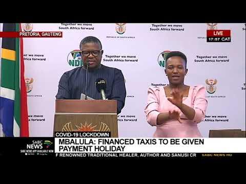 Coronavirus Lockdown I Minister Mbalula shares transport guidelines