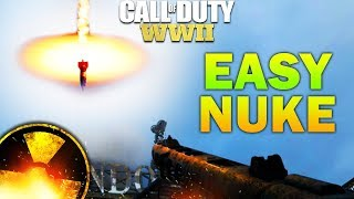 COD WW2 V2 ROCKET - COD WW2 EASY NUKE GUIDE (COD WW2 HOW TO GET A NUKE)