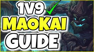 (EDUCATIONAL) THIS IS HΟW YOU PLAY FULL AP MAOKAI LIKE A GRANDMASTER PLAYER! - Maokai Guide