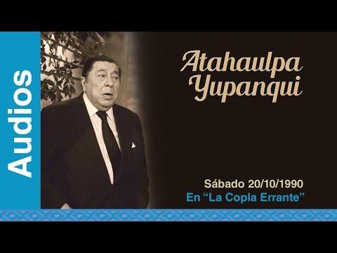 """Atahualpa Yupanqui en """"La Copla Errante"""" (20/10/1990) - Radio Nacional - AUDIO"""