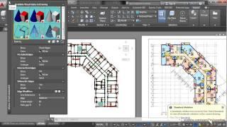 AutoCAD - эскизный стиль чертежей