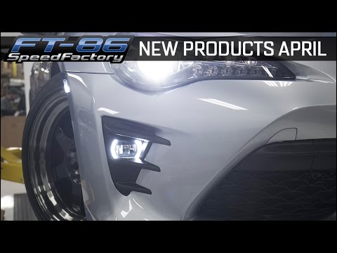New Products April - FT86SpeedFactory