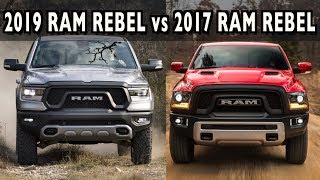 Old vs. New: 2019 Ram 1500 Rebel vs. 2017 Ram 1500 Rebel on Everyman Driver
