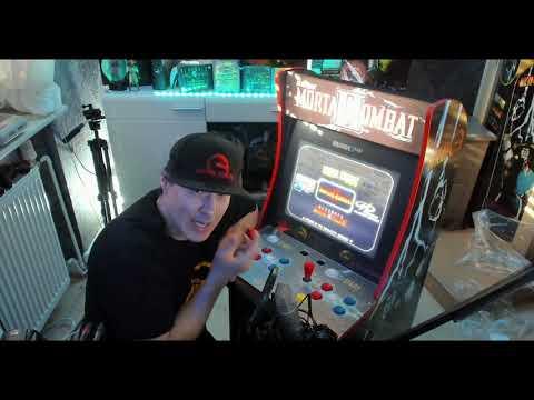 Arcade 1UP Mortal Kombat Spielautomat absolut WAHNSINN Unboxing und Tutorial Review from GameSmoker Li