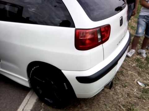 seat ibiza cupra 2001 260 hp youtube. Black Bedroom Furniture Sets. Home Design Ideas