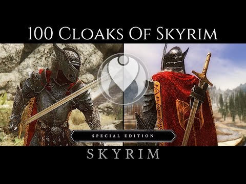 Cloaks of skyrim скачать.
