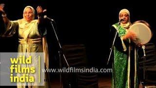 Sufi music from Morocco: Hadarrattes Souiriyattes group