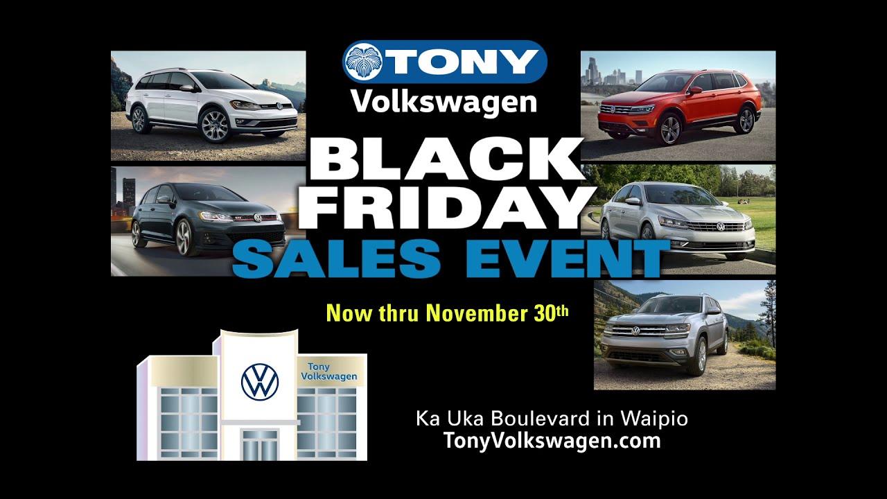 Tony Volkswagen Black Friday Sale 2020 Youtube