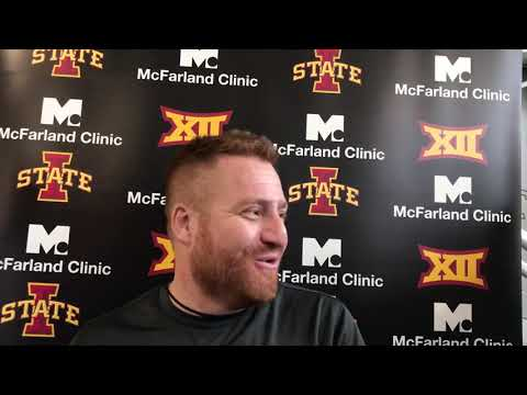Dave Sprau - VIDEO: ISU Tight Ends Coach Alex Golesh