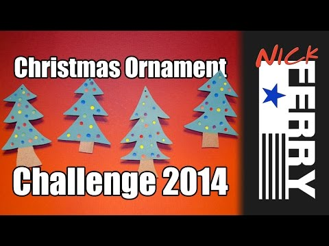 Ⓕ Christmas Ornament Challenge 2014 (ep32)