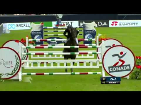 john whitaker argento lgct mexico city 2016 grand prix round 2 youtube. Black Bedroom Furniture Sets. Home Design Ideas