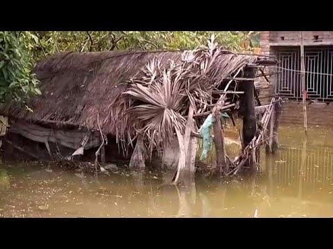 Güney Asya'nın Muson bilançosu bin 200 ölü