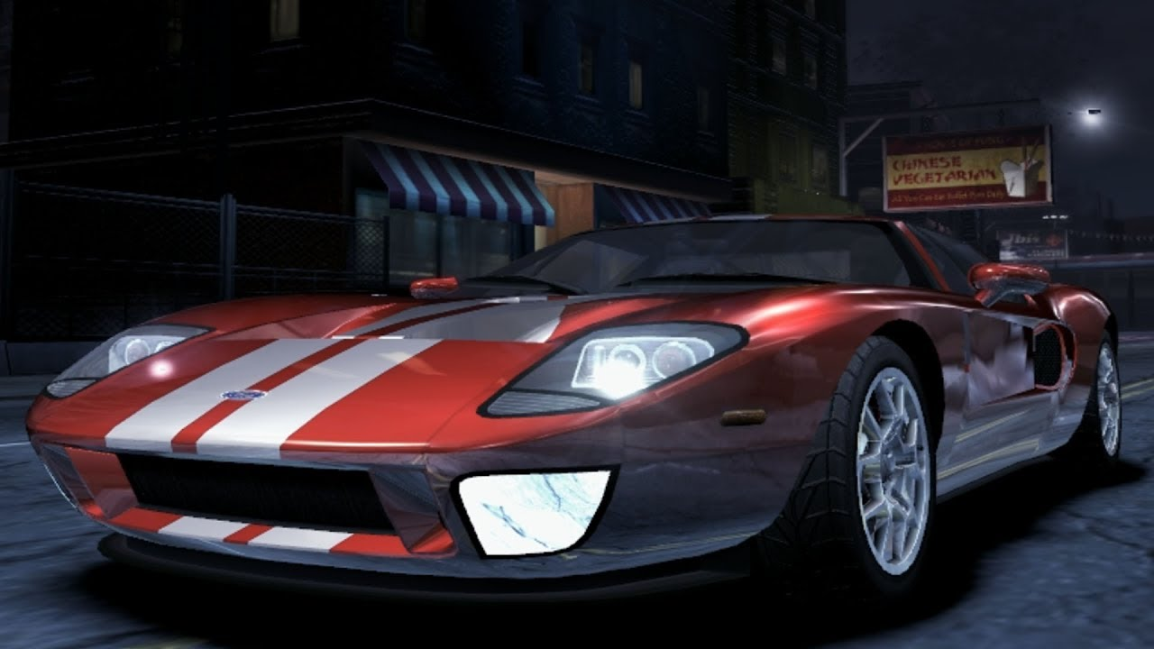 Need For Speed Carbon Ford Gt Test Drive Gameplay Hd Pfps