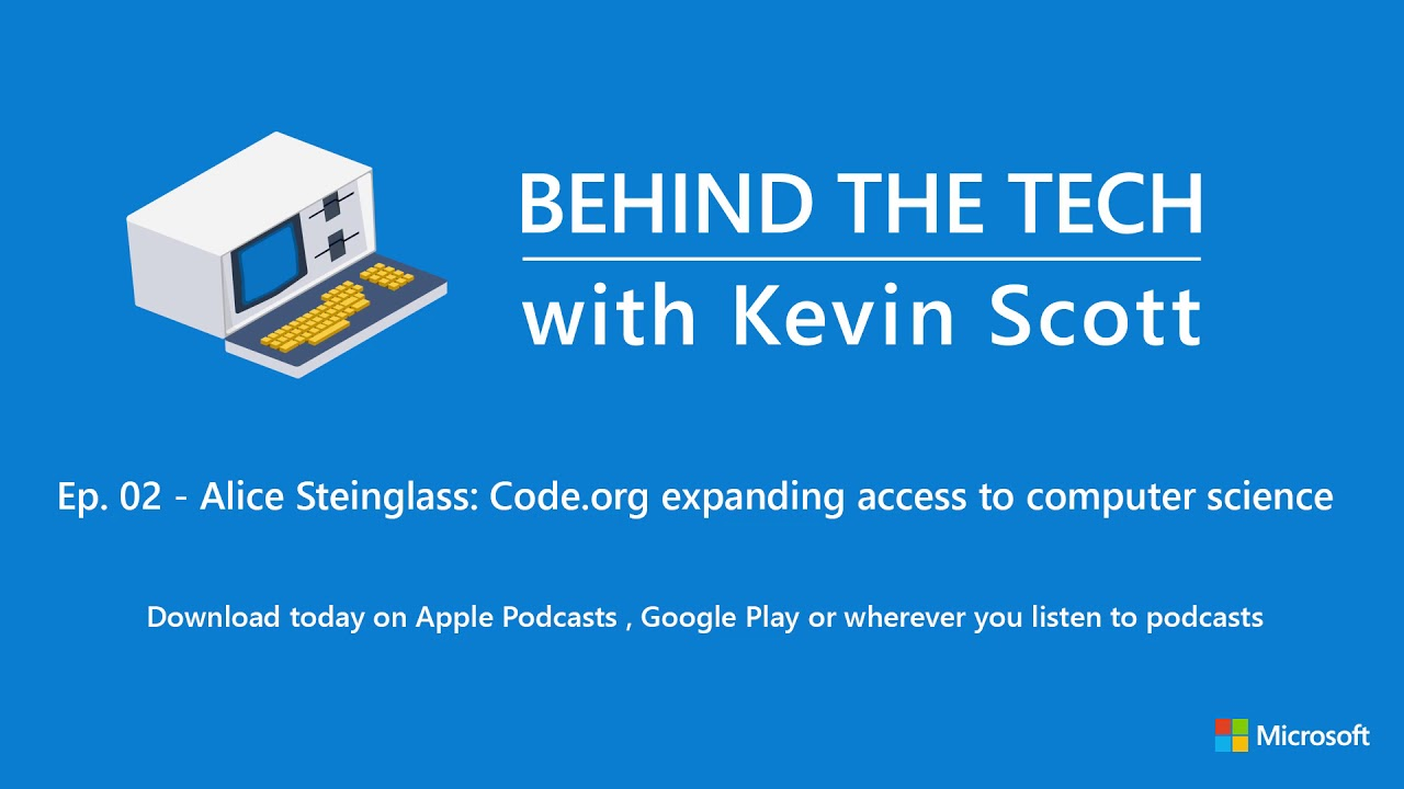 Episode 2 - Alice Steinglass: Code org expanding access to computer science