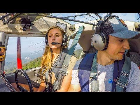 Float Flying with Sarah - Alaska Backcountry   Alaska: Part 9