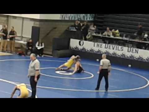 Cameron Owens Findlay Wrestler at 41st Annual Carey Classic on 1.14.2017 - 5th Match