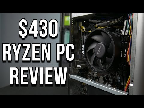 $430 Ryzen APU PC - Axiom TS Small Form Factor Review