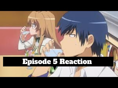 My Thoughts on Toradora Episode 5 English Dubbed
