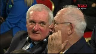 Podróż apostolska Franciszka do Irlandii: Spotkanie z władzami i delegacjami