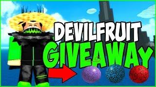 FREE DEVIL FRUIT | One Piece Bizarre Adventure Devil Fruit Giveaway! | Roblox | iBeMaine