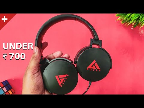 Best Headphones Under 1000 | Boult Audio Probass Q Wired Review 🔥