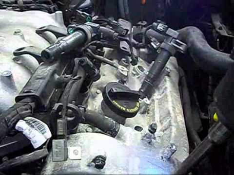 3 3 Liter Santa Fe Valve Cover Removal Youtube