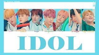 Gambar cover [COLOR CODED/THAISUB] BTS - Idol #พีชซับไทย