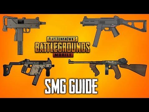 SMG (SUB MACHINE GUN) GUIDE FOR PUBG MOBILE