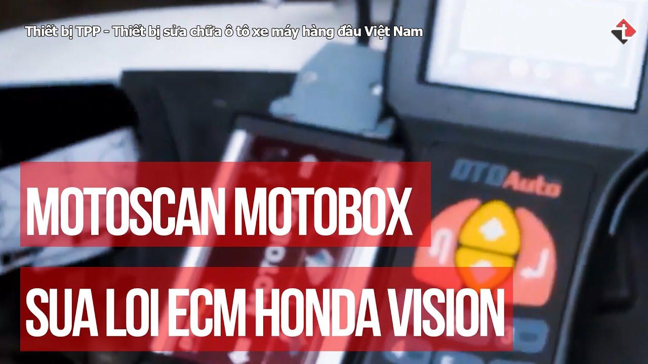 Nâng cấp phần mềm ECM cho Honda Vision