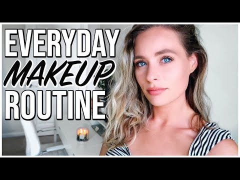 EVERYDAY SPRING MAKEUP ROUTINE  Natural Glowy Skin  GRWM Renee Amberg