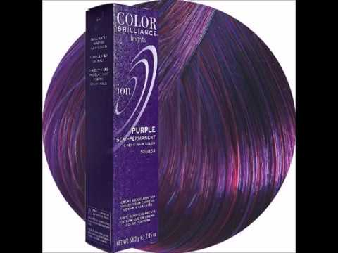 Ion Sally Beauty Color Brilliance Brights Semi Permanent Hair Purple