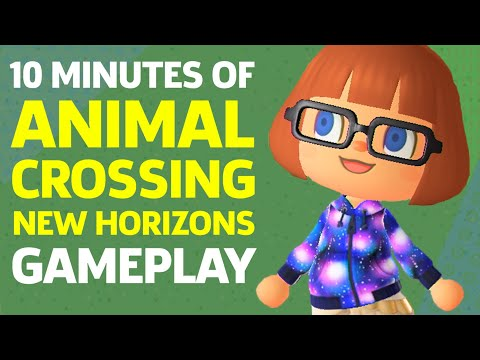 10 Minutes Of Animal Crossing: New Horizons Gameplay