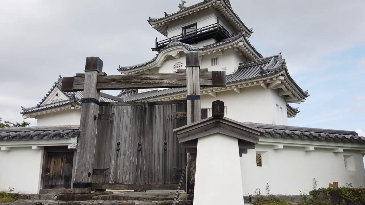 掛川城ツアー. kakegawa castle tour - 4k video