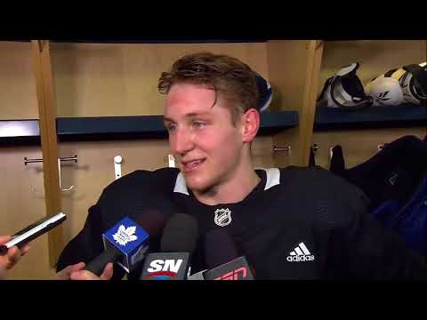 Maple Leafs Practice: Travis Dermott - January 5, 2018