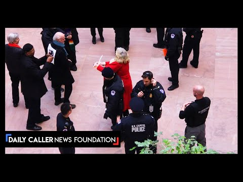 Jane Fonda Arrested In Senate Building On Her Birthday