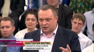 Политика с Петром Толстым 11.04.2013