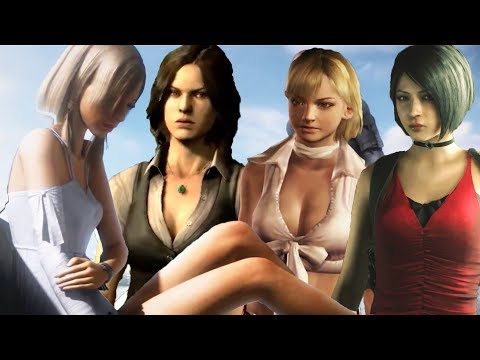 All The Girls Who Had A Crush On Leon In Resident Evil Games